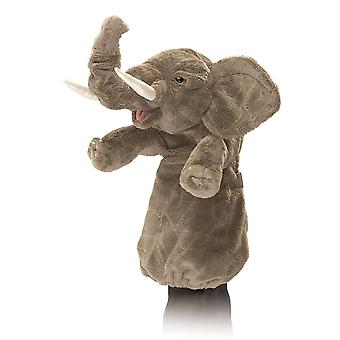 Hand Puppet - Folkmanis - Elephant Stage Puppet New Toys Soft Doll Plush 2830