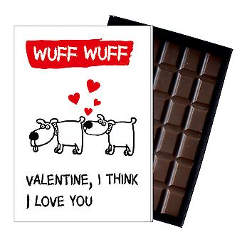 Funny Valentines Day Gift for Girlfriend Wife Women Boxed Chocolate Greeting Card Present ODV209