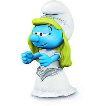 Schleich Smurfette Bride