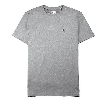 CP Company Goggle Hood Print T-shirt Grey