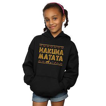 Disney Girls The Lion King Hakuna Matata Hoodie