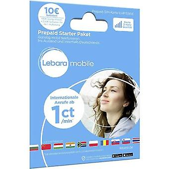 Lebara Starterpaket Prepaid card (no contract)