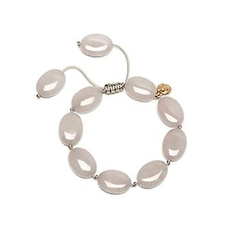 Lola Rose Bracelet Women Base Metal Oval Grey Quartz