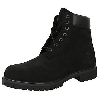 Timberland premium 6-calowy mężczyźni'czarne buty
