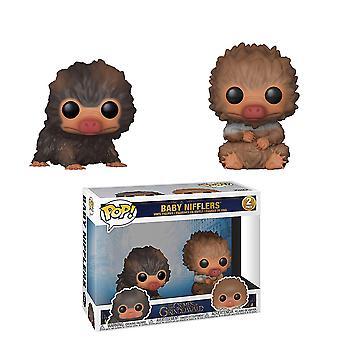 Fantastic Beasts 2 Grindelwald baby Nifflers #1 pop 2pack