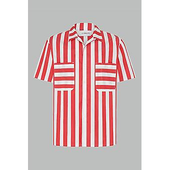 Jj emlyn pickard shirt - red/white
