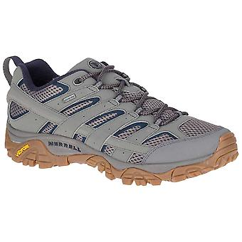 Merrell Charcoal Mens Moab 2 GTX Walking Scarpa