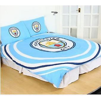 Manchester City FC Pulse Duvet Set