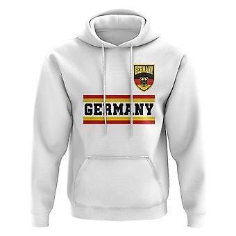Germany Core Football Country Hoody (White)