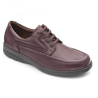 Padders Fire Mens Leather Regular (f Fit) Shoes Raisin
