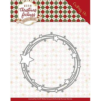 Find It Trading Precious Marieke Die-Star Circle, Warm Christmas Feelings