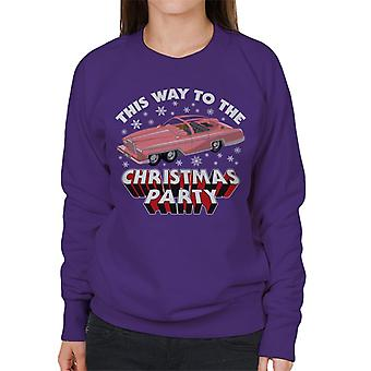 Thunderbirds FAB 1 This Way To The Christmas Party Women's Sweatshirt