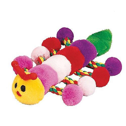 "Petlou Plush Colossals Caterpillar Dog Toy 22"""