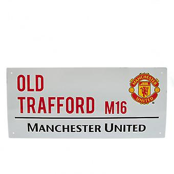 Manchester United FC oficial calle muestra