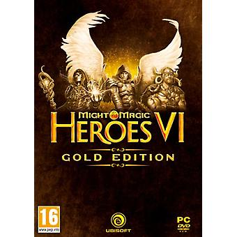 Might and Magic Heroes VI Gold Edition (PC DVD) - New