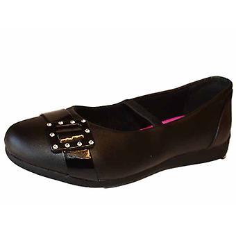 Tytöt TRIXI takaisin koulun tasainen kantapää sandaalin kenkä