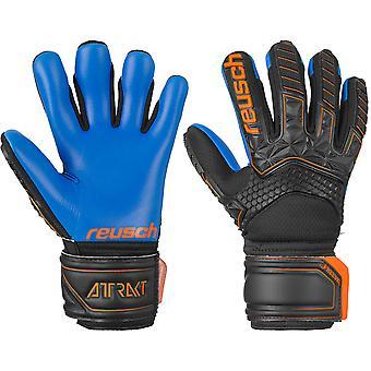 Reusch Attrakt Freegel S1 Finger Support Jnr   Goalkeeper Gloves