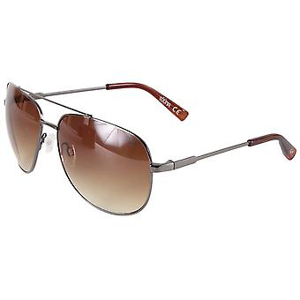 Suuna Soft Aviator Sunglasses - Gunmetal Grey