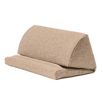 Latte Wool Effect iPad Kindle Tablet Boek Stand Foam Pillow Lap Rest Cushion