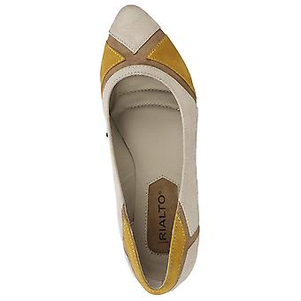 Rialto Womens Adora Fabric Pointed Toe Slide Flats