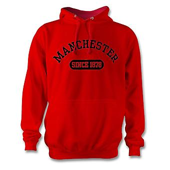 Manchester United 1878 Established Football Hoodie