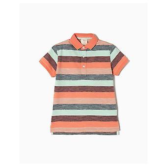 Zippy Polo Short Sleeve Stripes