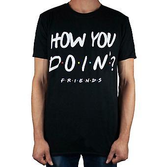 Ystävät Miten Doin& Men's T-paita