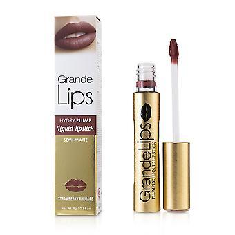 Grande lips plumping liquid lipstick (semi matte)   # strawberry rhubarb 4g/0.14oz