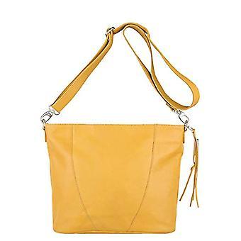 Legend BADESI-A Yellow Women's shoulder bag (yellow (oker 0121)) 12x36x32 cm (B x H x T)