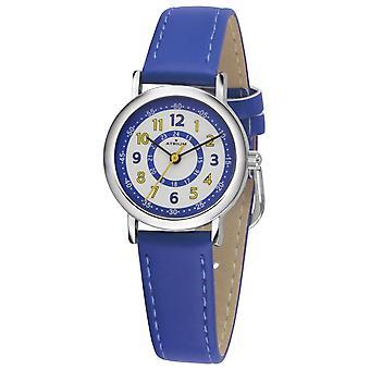 ATRIUM Kinder-Armbanduhr Analog Quarz Jungen Kunstleder A31-105 blau