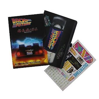 Back To The Future VHS Style Premium Notebook