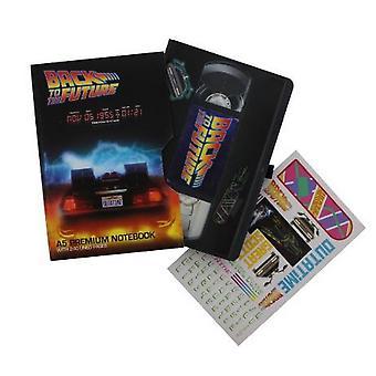 العودة إلى المستقبل VHS نمط ممتاز دفتر الملاحظات