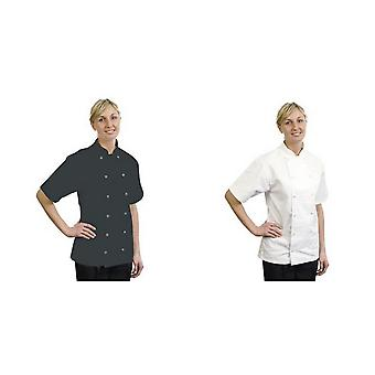 BonChef Adults Danny Short Sleeved Chef Jacket