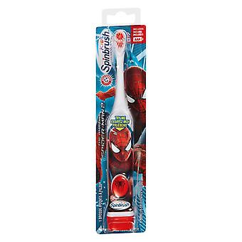 Arm & hammer spinbrush kids powered toothbrush, spiderman, 1 ea