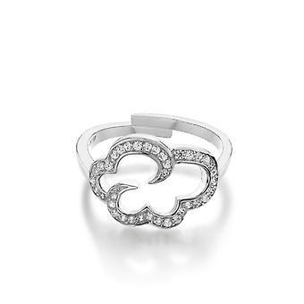 Vixi DayDream Silver Stainless Steel Ring Ladies Jewellery DAYO-R.W