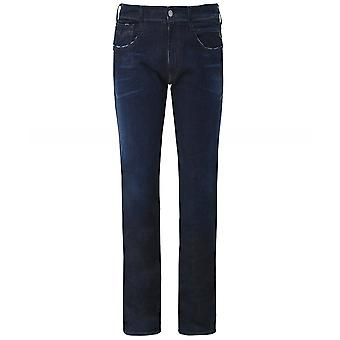 Replay Slim Fit Hyperflex Anbass Clouds Jeans