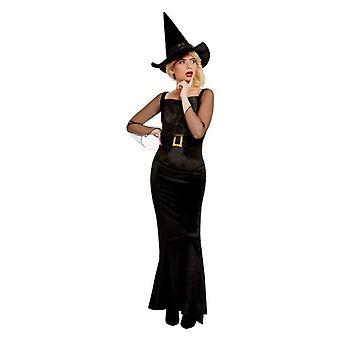 Womens Halloween Glam Hexe Kostüm