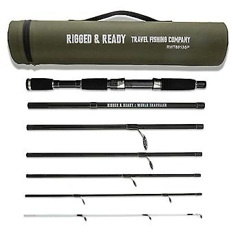 Smuggler 7 Compact Travel Rod and Case with 2 tips