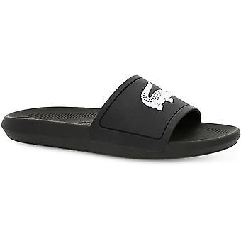 Lacoste Women's Croco 119 1 CFA Sliders Black/White 54