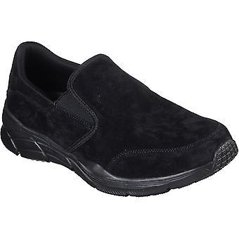 Skechers Mens Equalizer 4.0 Myrko Leather Slip On Shoes