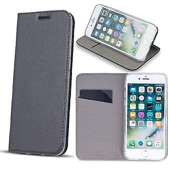 Huawei P10 - Smart Premium Sag Mobile Wallet - Silver Grey