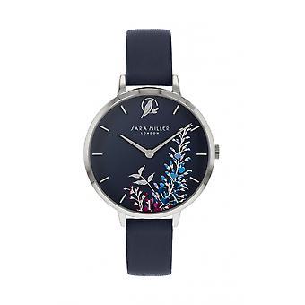 Sara Miller SA2051 Women's Navy Wisteria Wristwatch