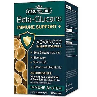 Nature's Aid Beta-Glucans Immune Support + Tablets 90 (129130)