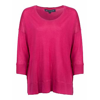 French Connection Spring Light Knits Long Sleeve Scoop Neck Womens Jumper