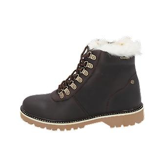 Zebra Schoenen Ayla Kids Girls Boots Brown Lace-Up Boots Winter