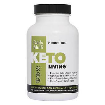 Nature's Plus KetoLiving Daily Multi VCaps 90 (82002)