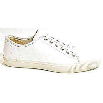 FRYE Men's Patton Low Lace up Sneakers Shoes Leather White 9.5