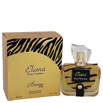 Eliana Eau De Parfum Spray By Artinian Paris 3.4 oz Eau De Parfum Spray