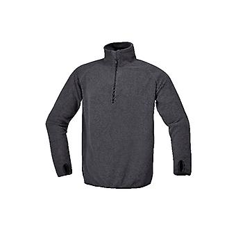 Beta-076350510 X/Small Microfleece Pullover kurz-sleeved Antracite Grey