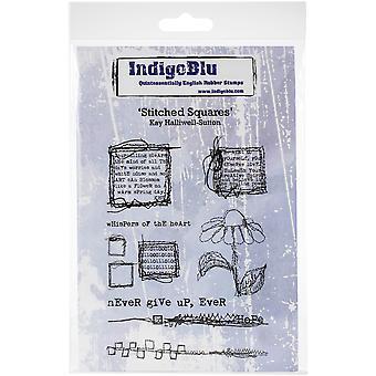 IndigoBlu Stitched Squares A6